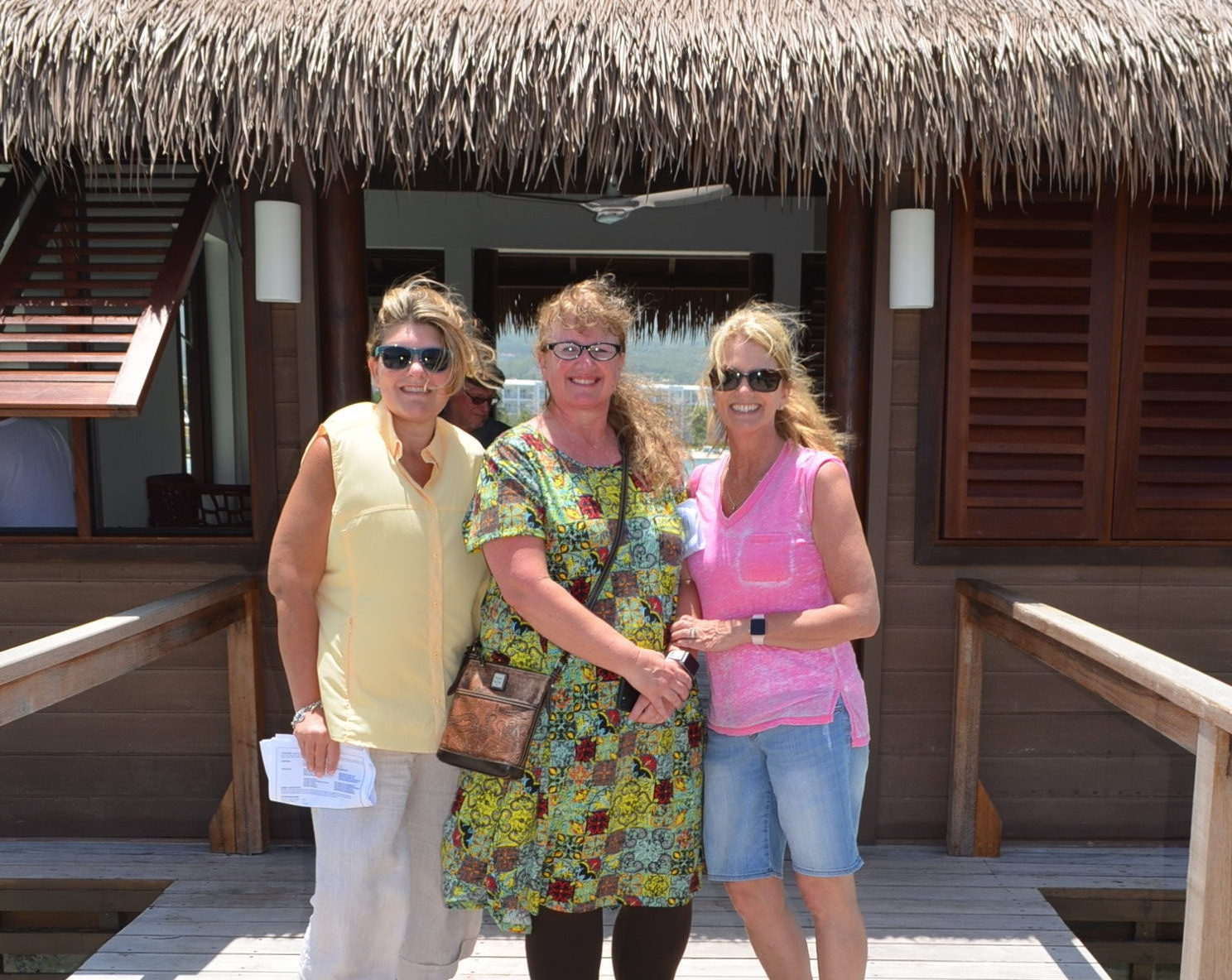 Checking out the Over The Water Villas in Jamaica