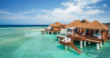 Over the Water Villas in Jamaica