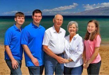 Family Celebrates 50th Anniversary
