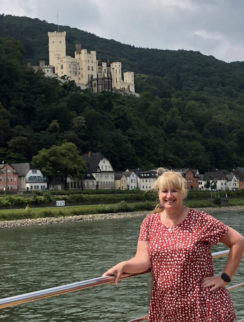 Renee Scouting out River Cruise Options