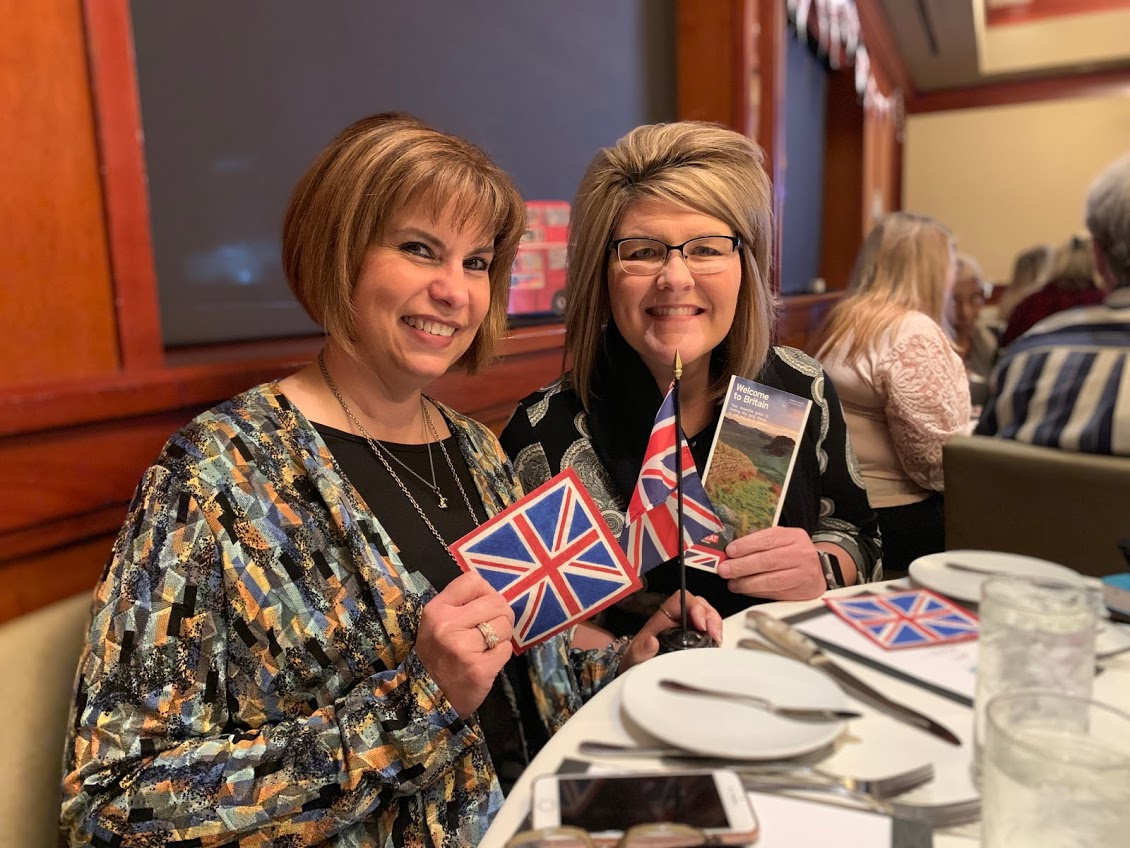 Evening with the British tourism Department