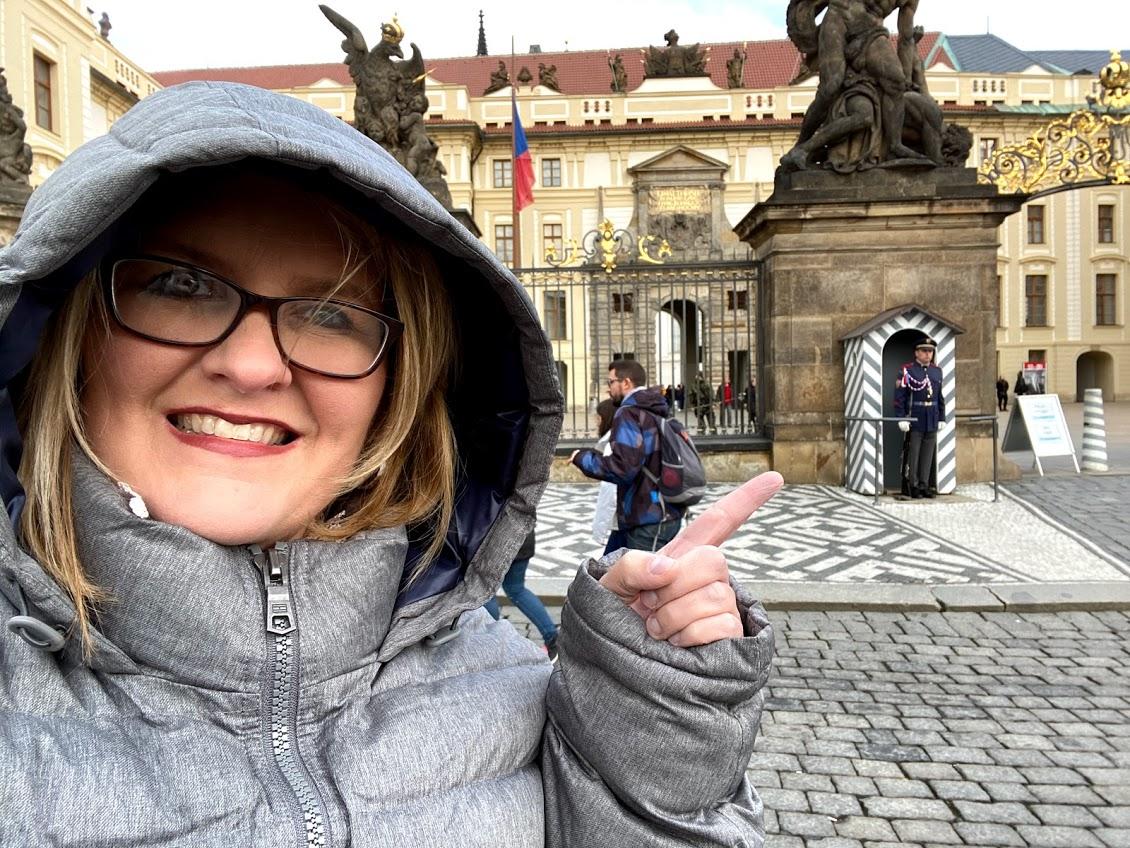 Wendi in Prague